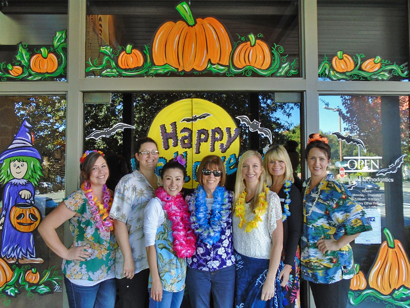 Happy Halloween from Petaluma Orthodontics