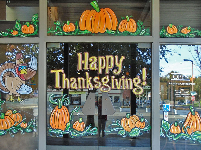 Happy Thanksgiving from Petaluma Orthodontics